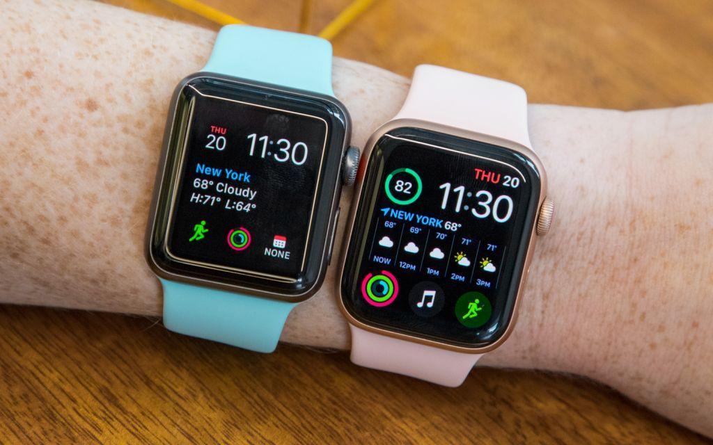Apple Watch Series 3 et Series 4