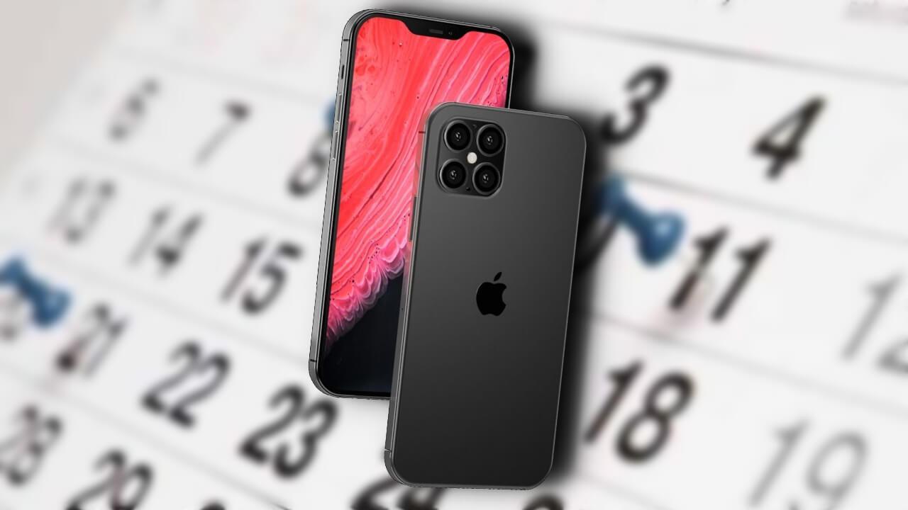 iPhone 12 lanzamiento calendario