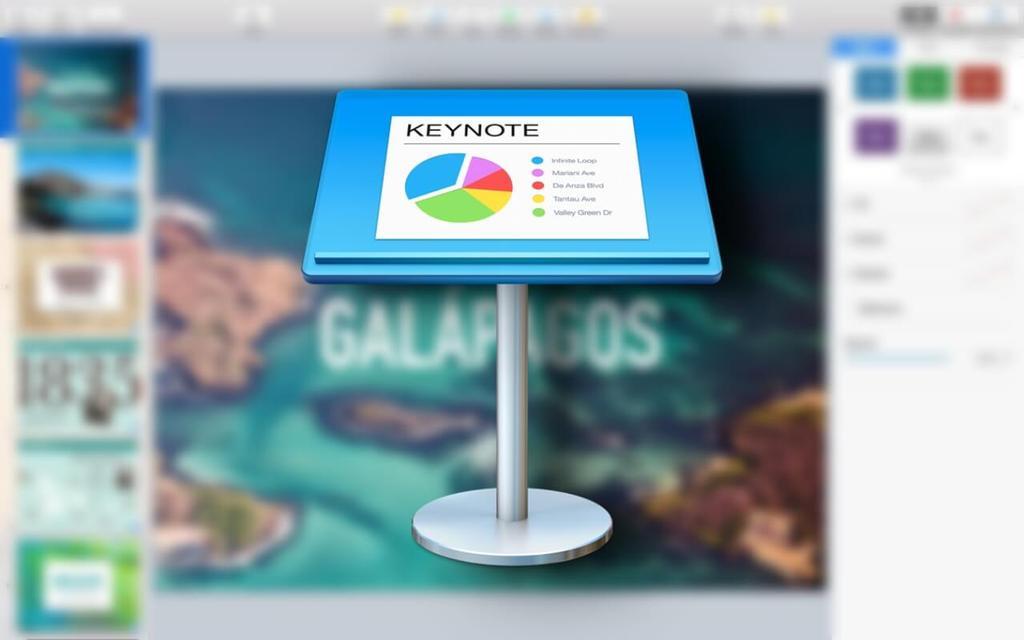 keynote pomme