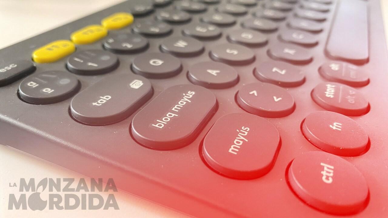 teclado para ipad logitech k380