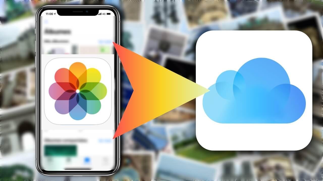 Fotos iPhone en iCloud