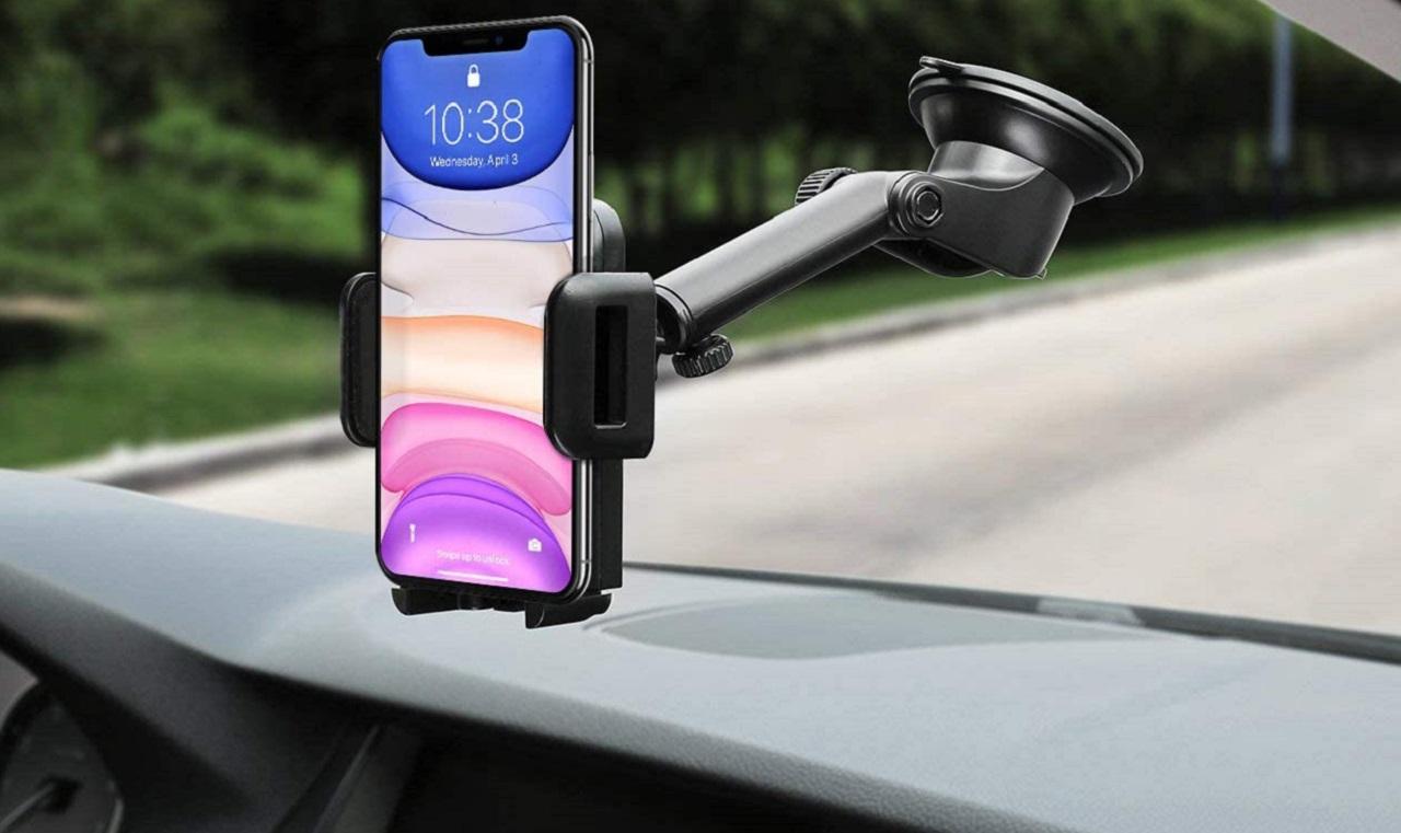 accesorios iphone coche