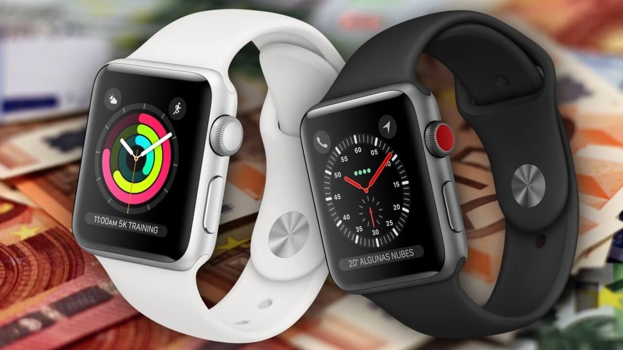 cuanto cuesta pantalla apple watch