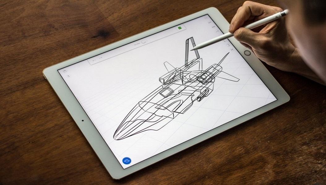 dibujando en iPad