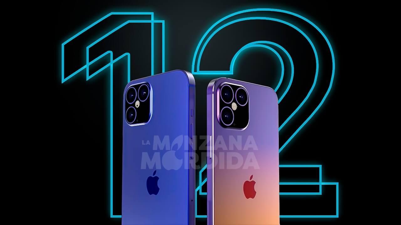 iphone 12 concepto la manzana mordida