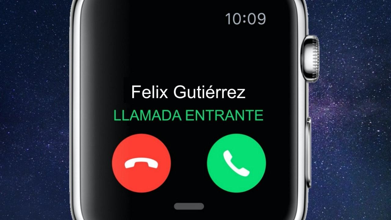 llamadas apple watch