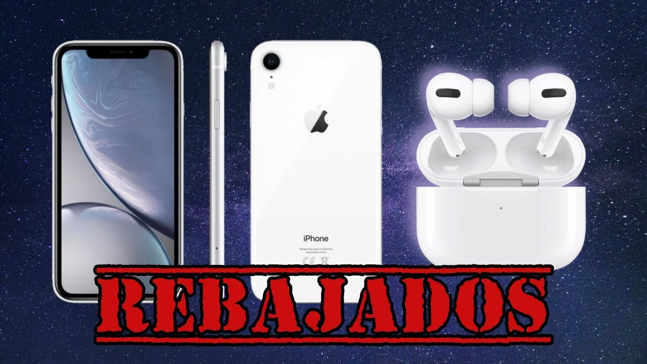 oferta iphone xr airpods pro