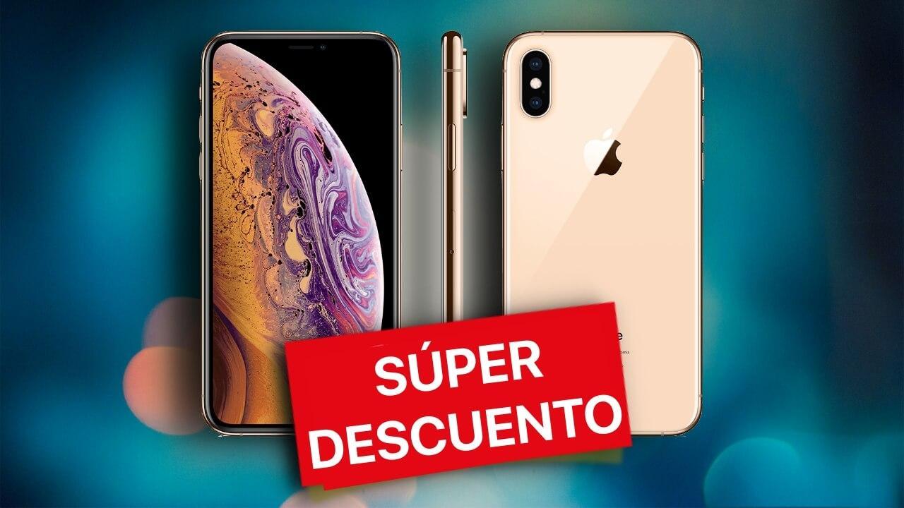 oferta iphone xs descuento