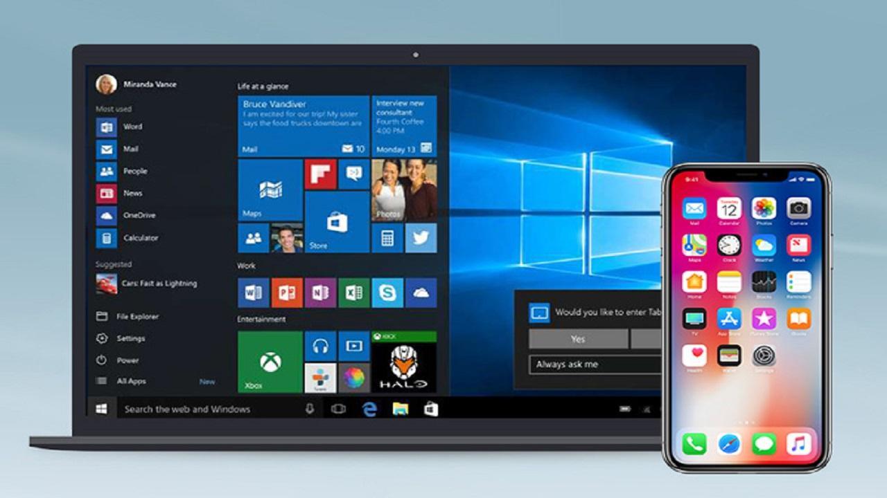 sincronizar iPhone Windows