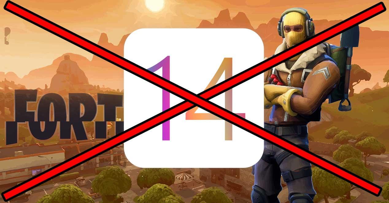 Fortnite no funciona iOS 14