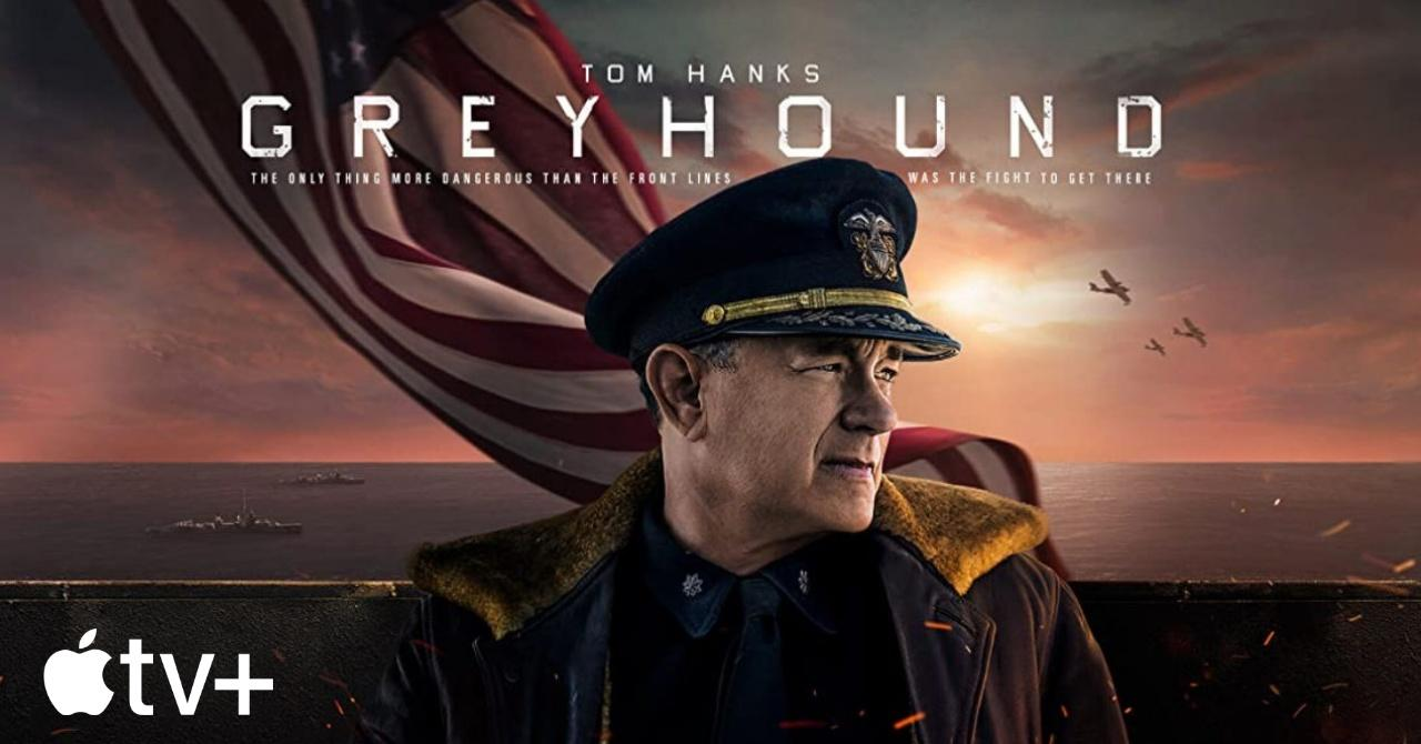 Greyhound Apple Tom Hanks