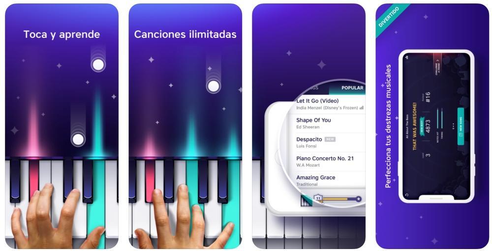 Piano - Teclado y canciones