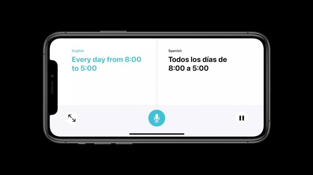 Traductor integrado Siri iOS 14