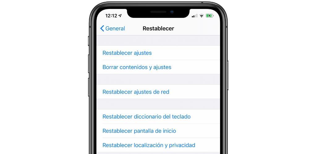 formatear iphone