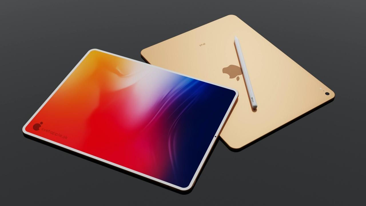 iPad Air 2020 render