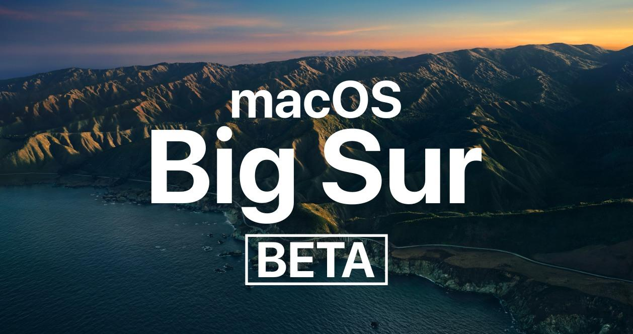 macOS 11 Big Sur beta
