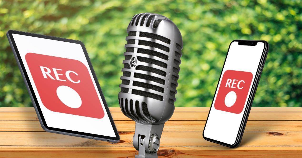 Apps grabar podcast iPhone iPad
