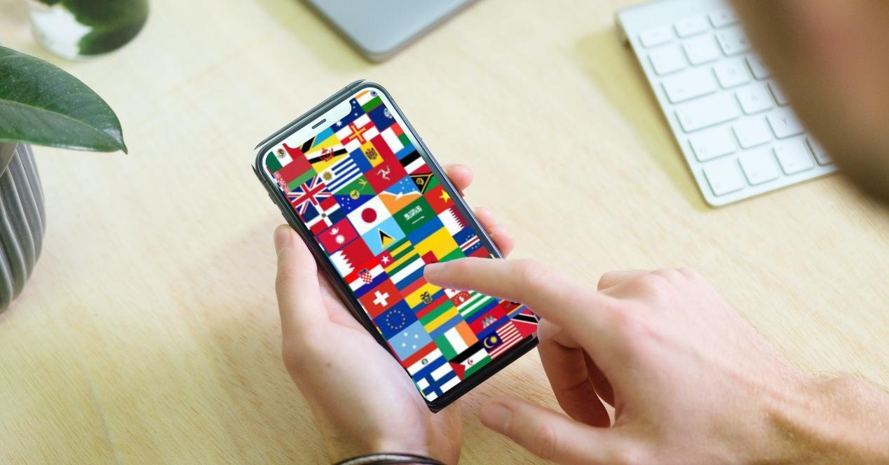 Cambiar idioma teclado iPhone