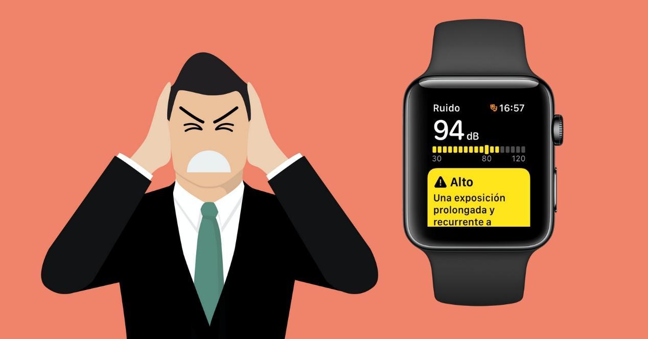 Medir ruido Apple Watch