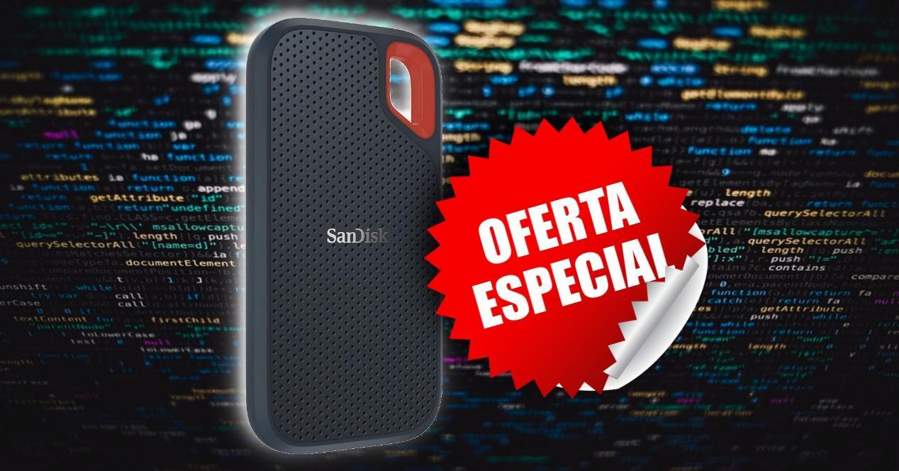 Oferta Disco SSD Externo