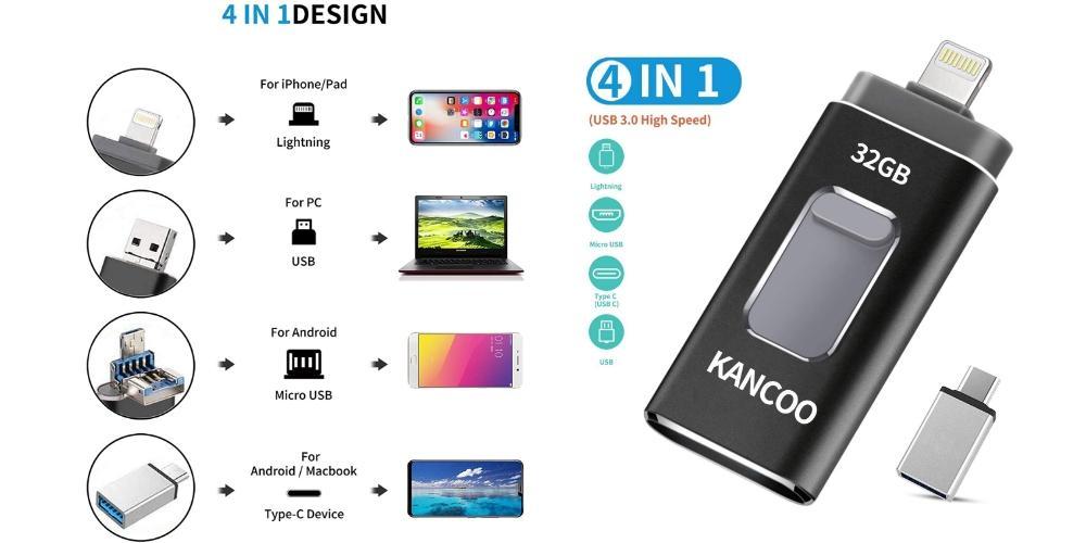 Pendrive multiusos iPad