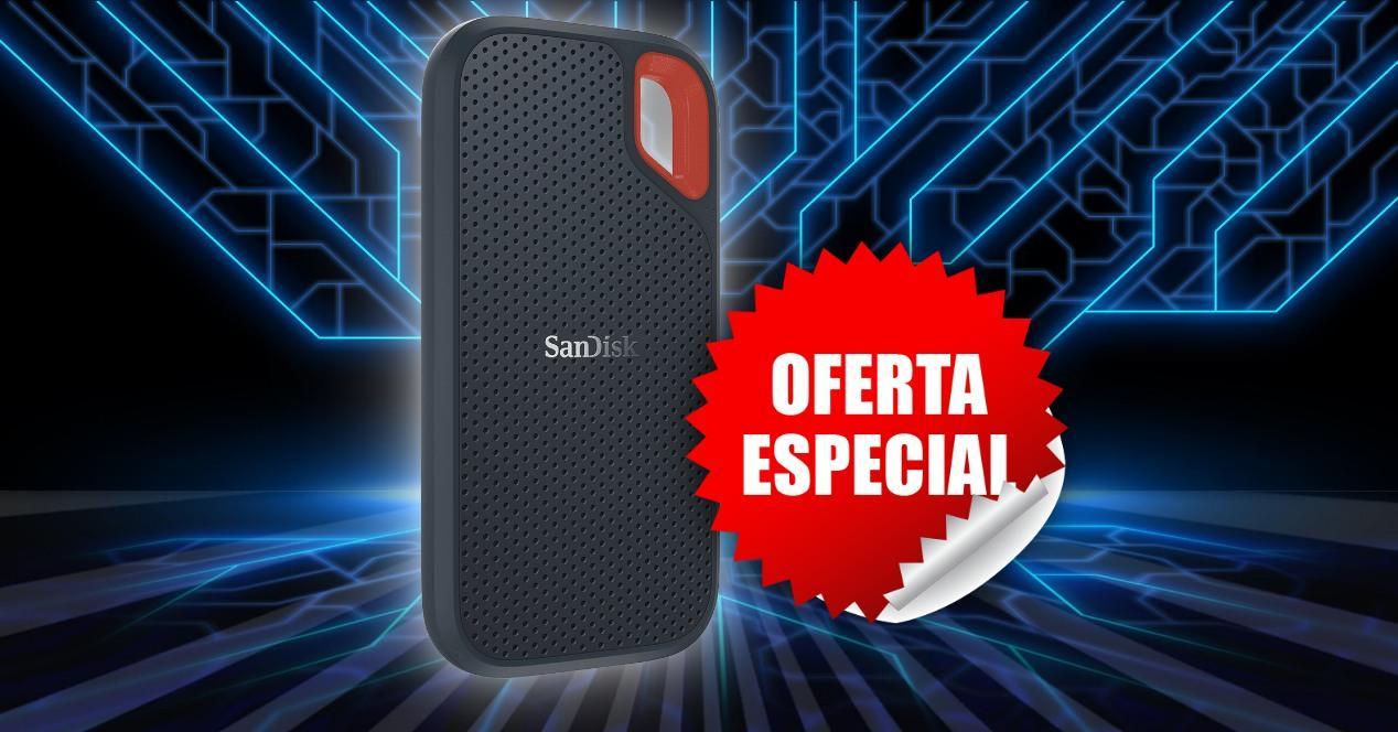 SSD externo oferta