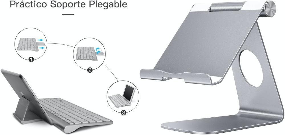Teclado soporte iPad