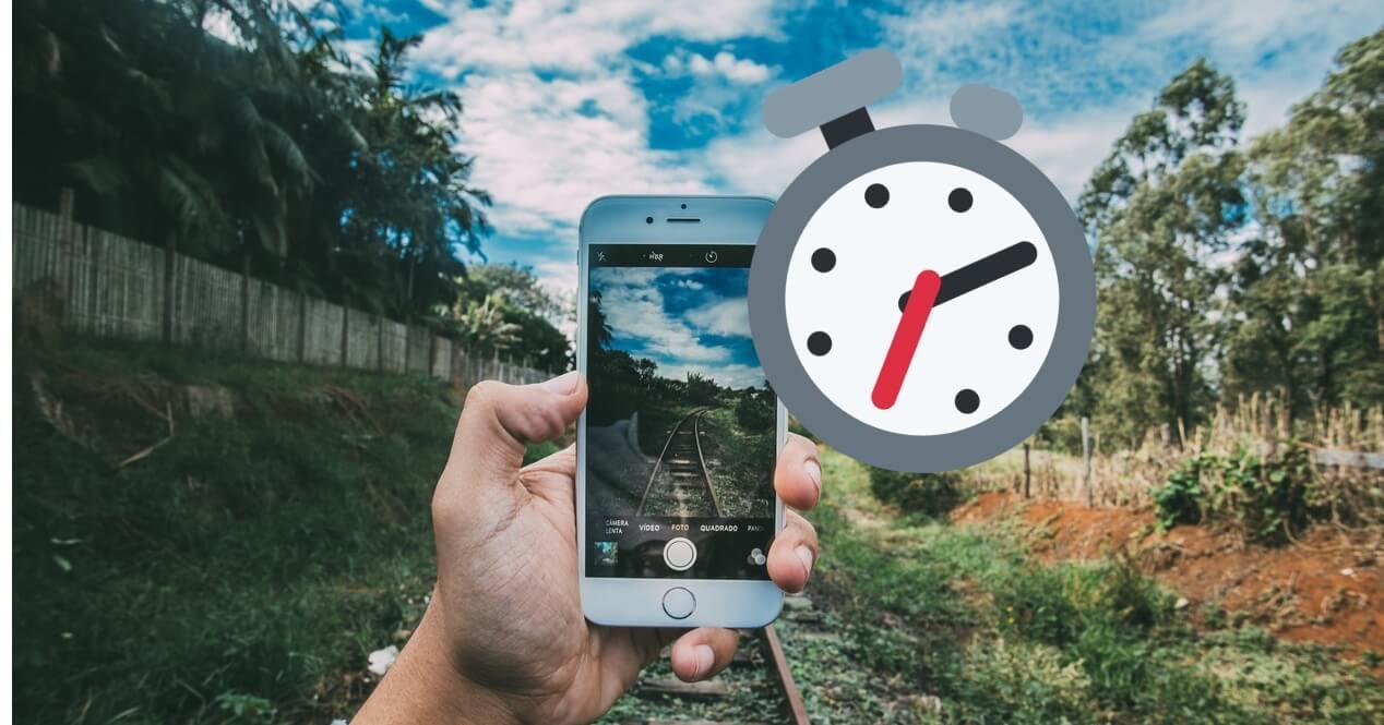 Cómo activar temporizador fotos cámara iPhone