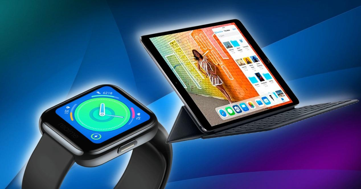 Apple Watch y iPad registrados