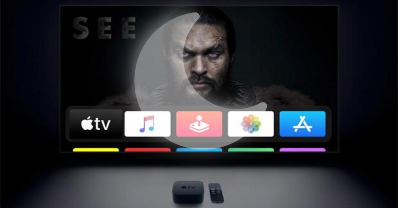 Cómo activar modo noche Apple TV