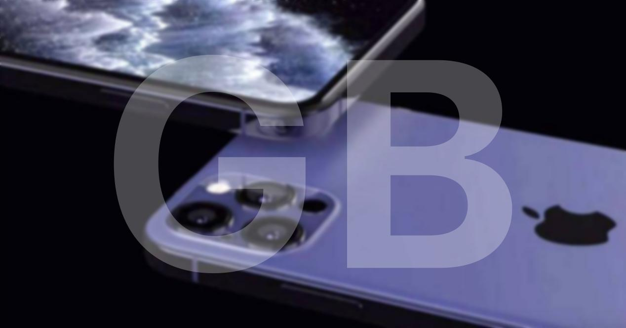Memoria GB iPhone 12