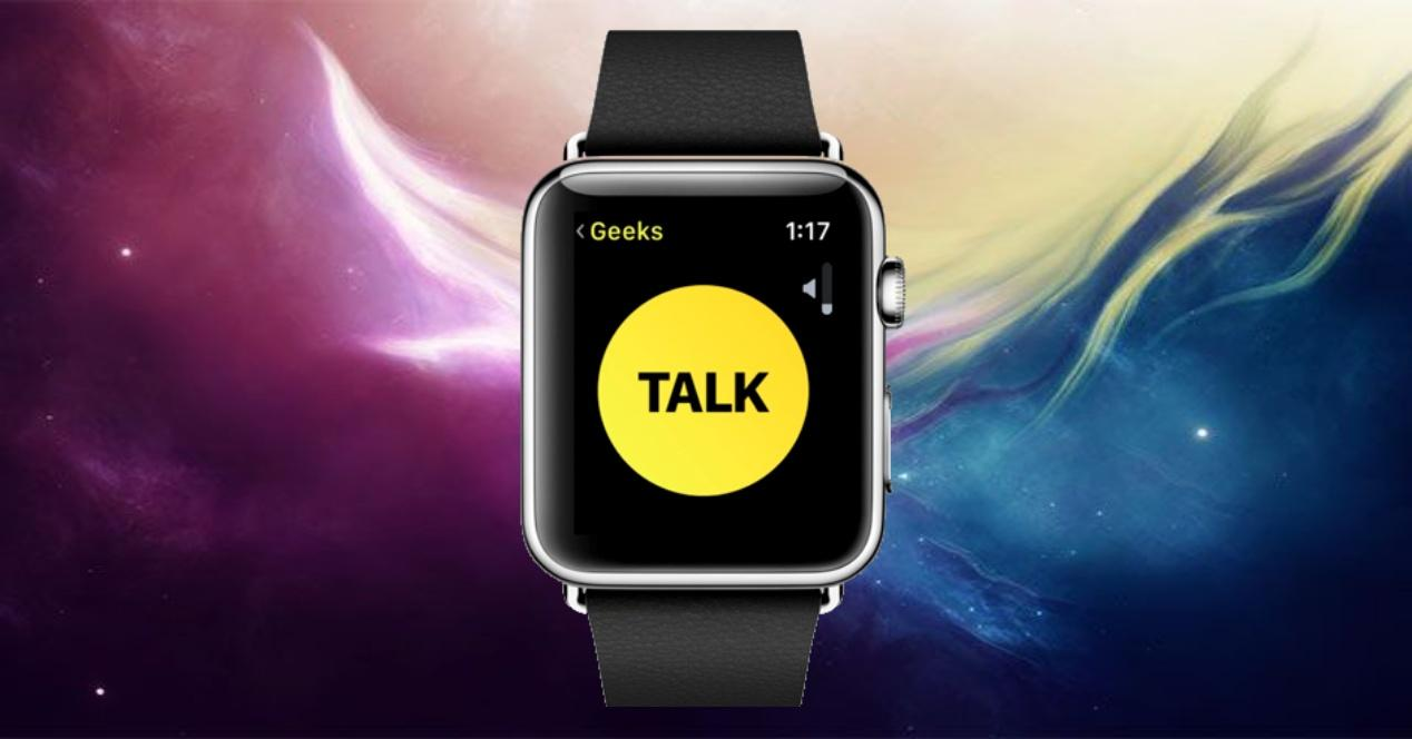 walkie talkie apple watch portada