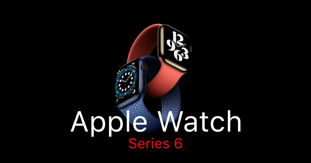 Apple Watch Series 6 oficial