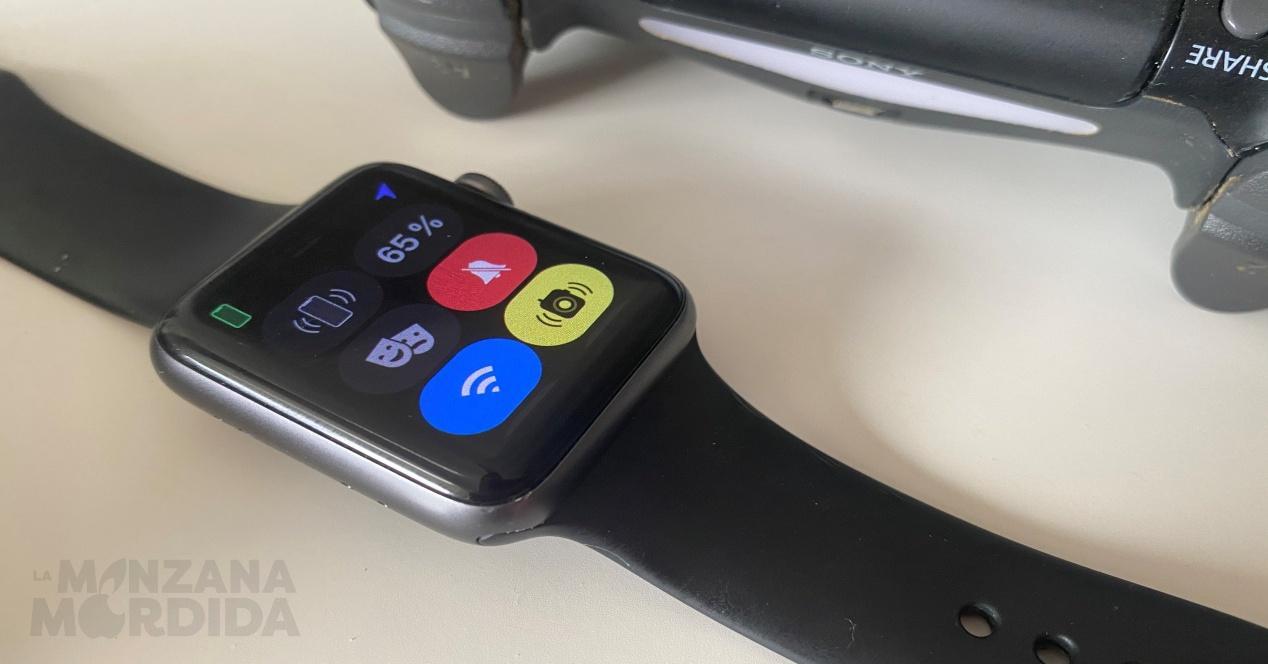 Centro de control Apple Watch