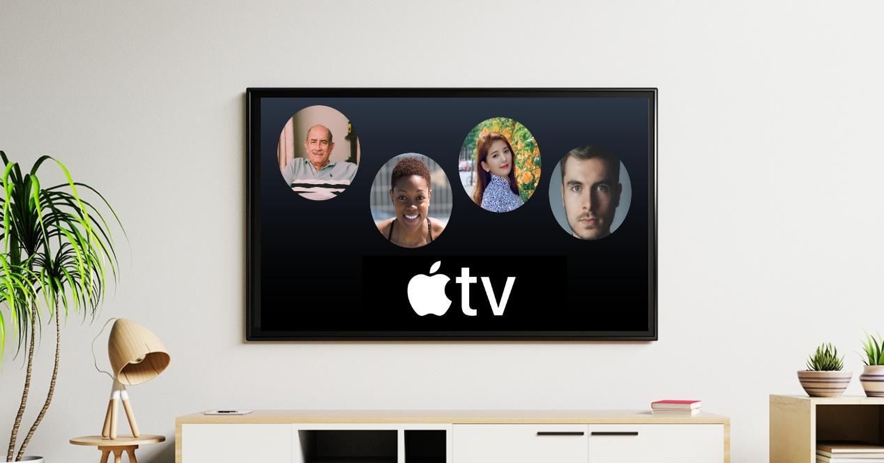 Crear usuarios Apple TV