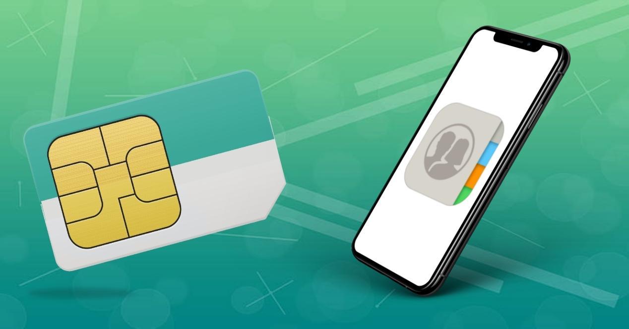 Pasar contactos SIM a iPhone