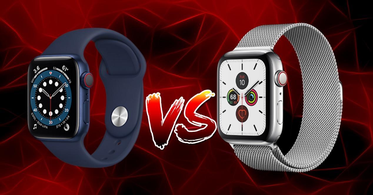 Apple Watch series 6 vs series 5