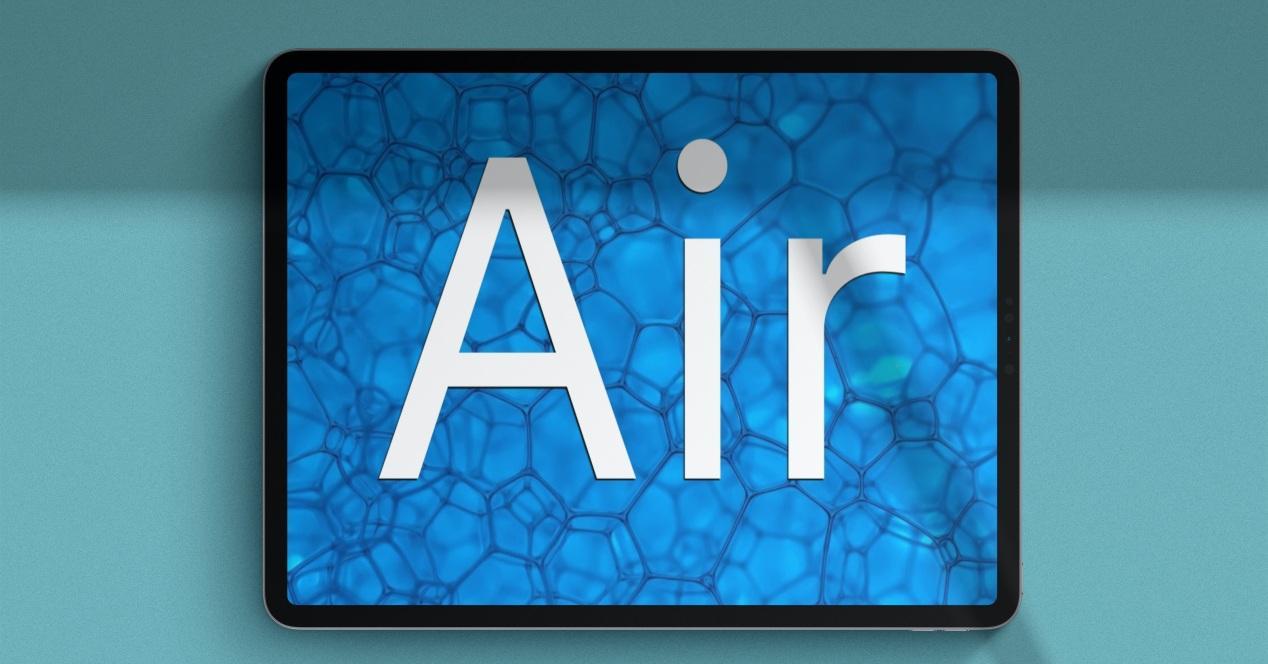 iPad Air 4 concepto