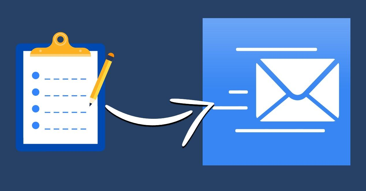 App recordatorios email - iPhone y iPad