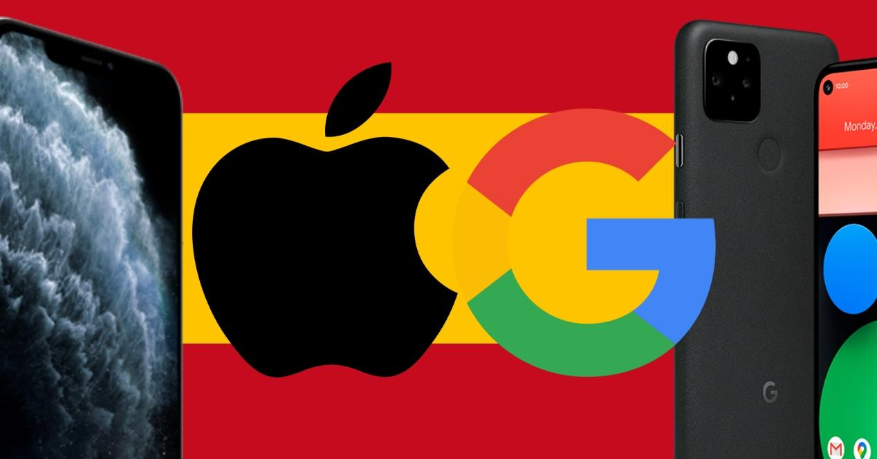 Apple vs Google España