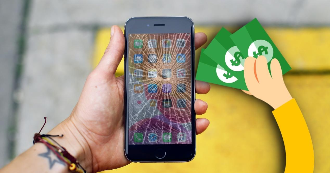 Precio pantalla iPhone SE 2020