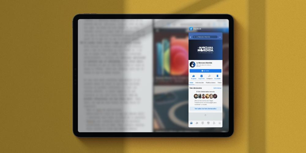 Three applications at once iPad