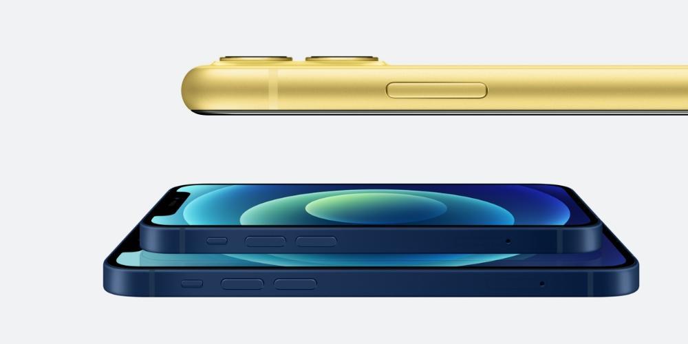 iPhone 11 y iPhone 12