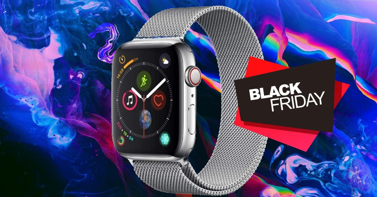 Black Friday APple WATCH sERIES 4 acero inoxidable