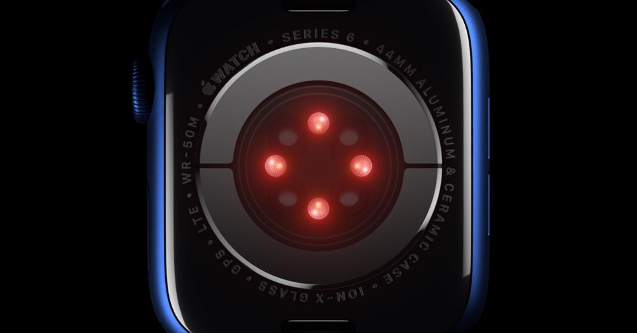 Sensores Apple Watch
