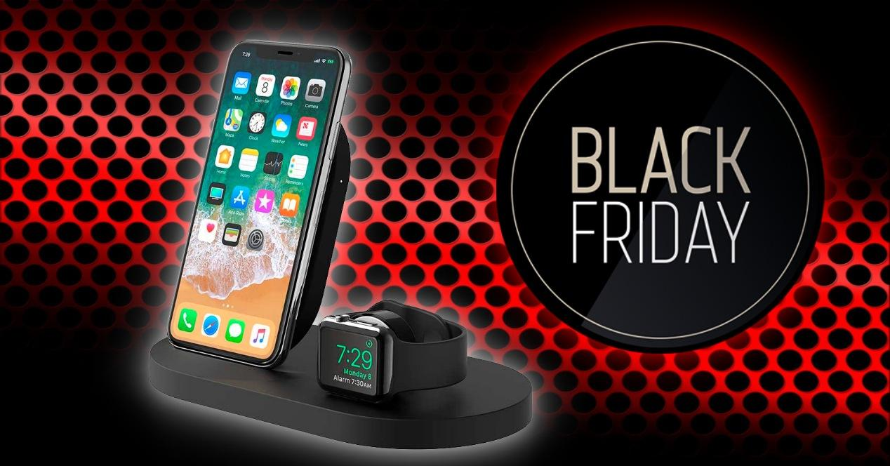 bases de carga iphone baratas black friday