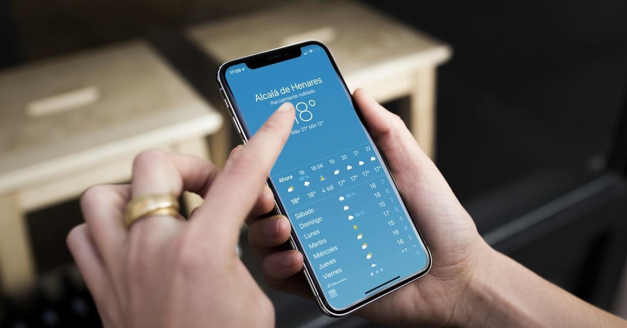 fallos app tiempo iphone