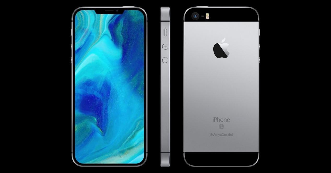 iPhone SE concepto