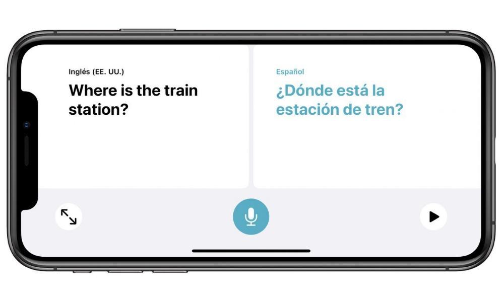 Traductor de Apple