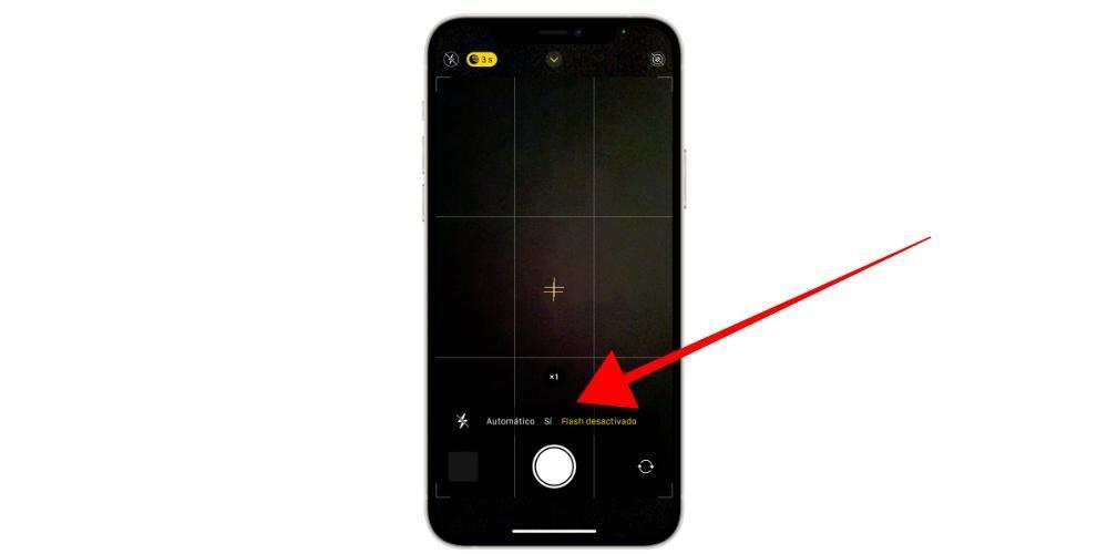 Flash fotos iPhone 12
